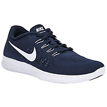 Buy Nike Free RN Men's Running Shoes, Blue Online at johnlewis.com