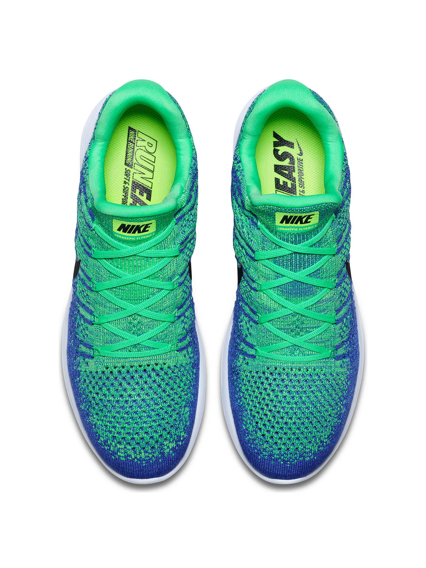 15436fd976f1a Nike LunarEpic Low Flyknit 2 Men s Running Shoes at John Lewis ...