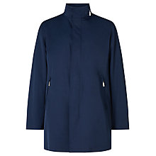 Buy Bugatti Sportive Flexcity Water Repellent Raincoat, Navy Online at johnlewis.com
