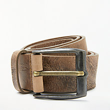Buy Diesel B-Whyz Buffalo Leather Belt Online at johnlewis.com