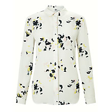 Buy Kin by John Lewis Scatter Floral Long Sleeve Shirt, White Online at johnlewis.com