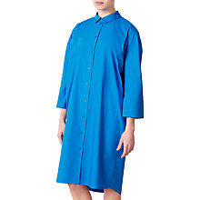 Buy Kin by John Lewis Poplin Shirt Dress, Cobalt Blue Online at johnlewis.com