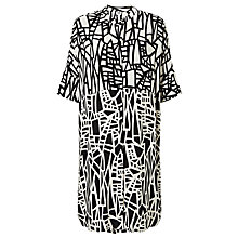 Buy Kin by John Lewis Assemble Print Dress, Black/White Online at johnlewis.com