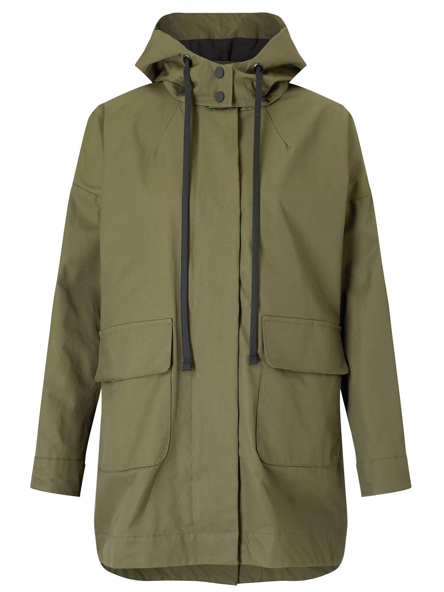 5db7b17dcf9 Kin by John Lewis Parka Coat, Khaki at John Lewis & Partners