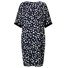 Buy Kin by John Lewis Animal Print Dress, Navy Online at johnlewis.com