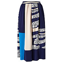 Buy Kin by John Lewis Colour Block Full Skirt, Multi Online at johnlewis.com