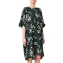 Buy Kin by John Lewis Oversized Scatter Floral Dress, Green Online at johnlewis.com