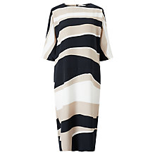 Buy Kin by John Lewis Stripe Batwing Dress, Multi Online at johnlewis.com