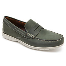Buy Rockport Total Motion Loafers, Dark Spruce Online at johnlewis.com