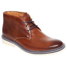 Buy Rockport Jaxon Chukka Boots, Brown Online at johnlewis.com