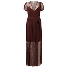 Buy Baum und Pferdgarten Albertina Wrap Dress, Decadent Choco Online at johnlewis.com