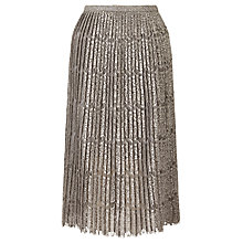Buy Darling London Trixie Skirt, Pewter Online at johnlewis.com