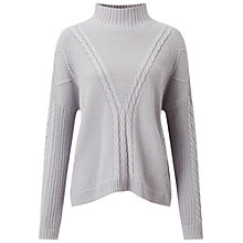 Buy Miss Selfridge Chunky Cable Knit Jumper Online at johnlewis.com