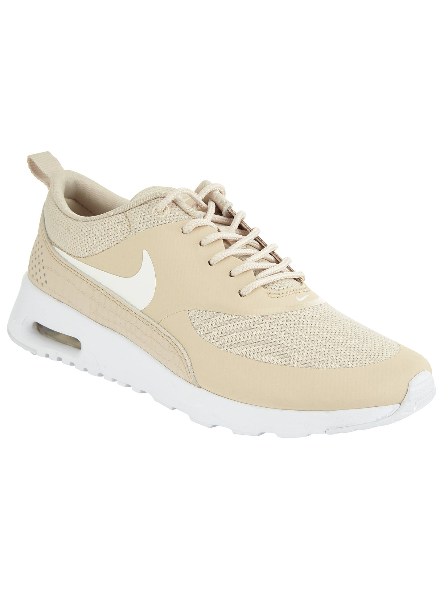 c34afdfb65 Buy Nike Air Max Thea Women's Trainers, Light Brown, 4 Online at johnlewis.