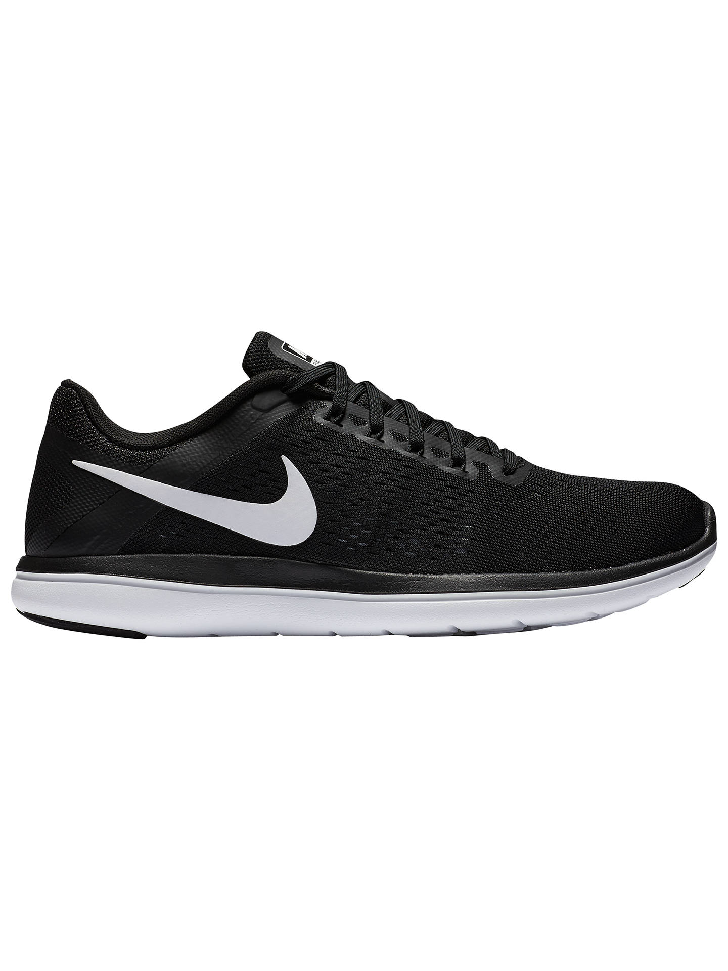 new products 20353 526ac Buy Nike Flex 2016 RN Women s Running Shoes, Black White, 4 Online at ...