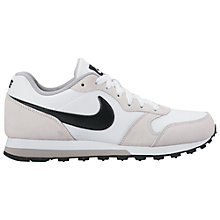 Buy Nike MD Runner 2 Women's Trainers, White Online at johnlewis.com