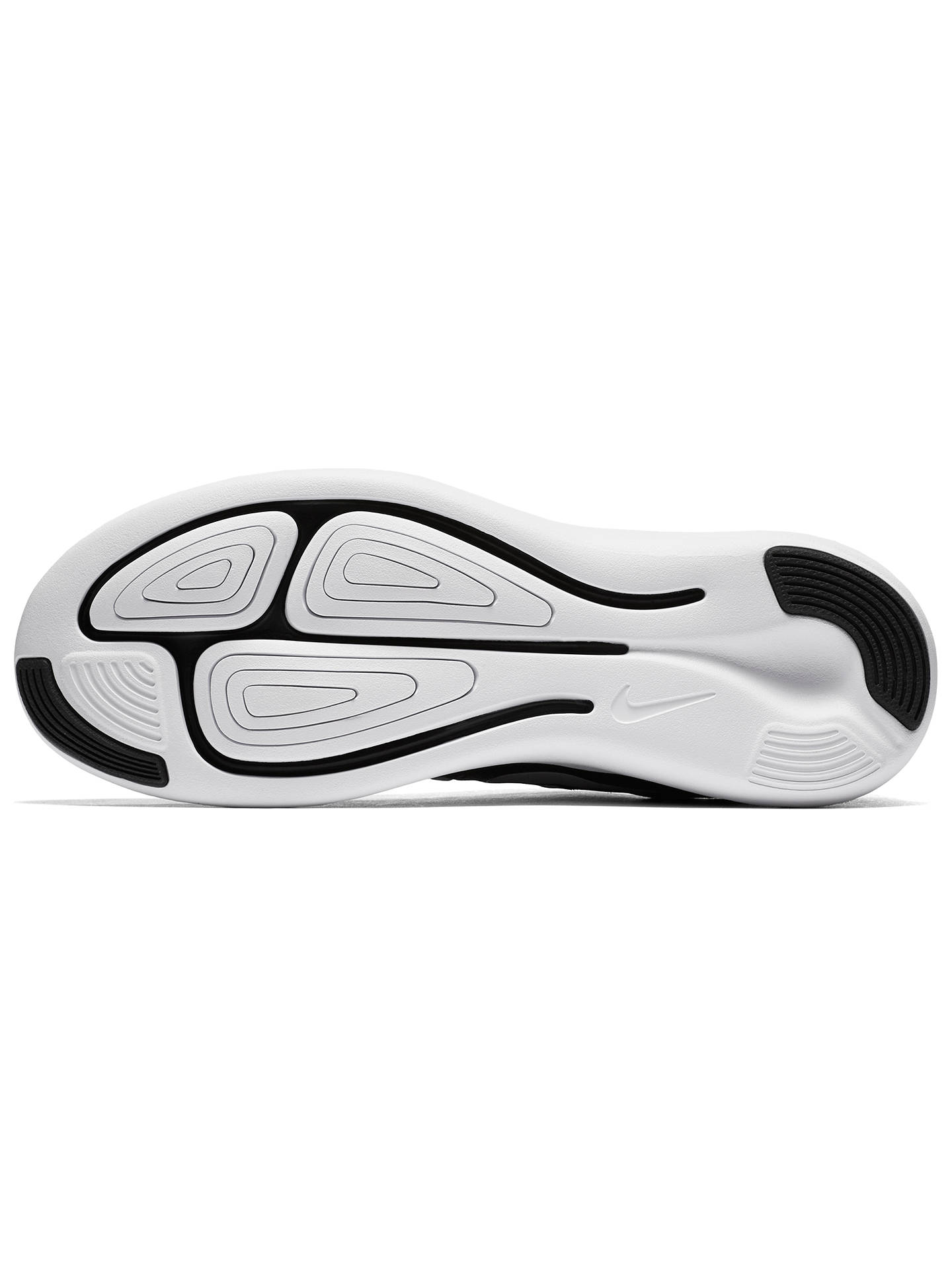 huge discount 1267d c81cf Buy Nike LunarStelos Women s Running Shoes, Black Anthracite, 4 Online at  johnlewis.