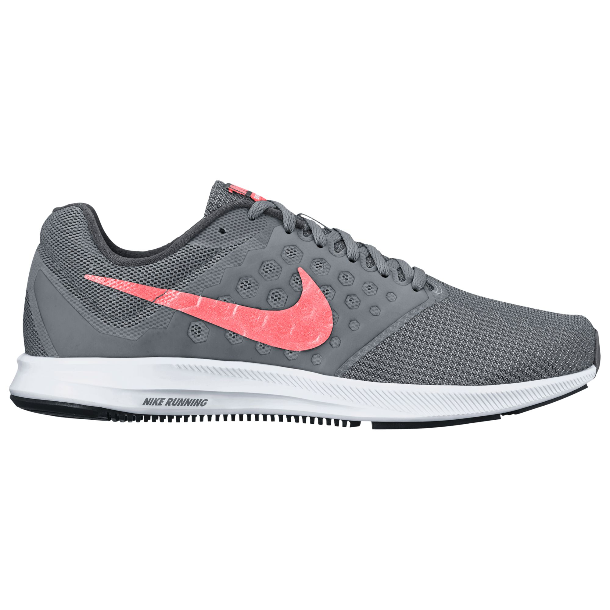 the latest aac13 27853 Nike Downshifter 7 Women s Running Shoes, Cool Grey Lava Glow at John Lewis    Partners