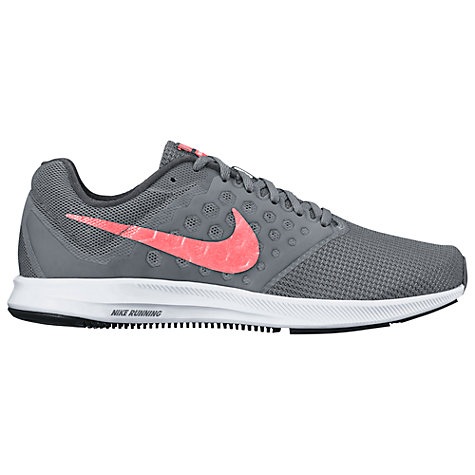 Coral Grey And White Nike Tennis Shoes