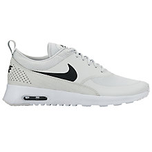 Buy Nike Air Max Thea Women's Trainers, Pure Platinum/Black Online at johnlewis.com