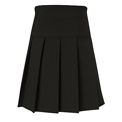 John Lewis Easy Care Panel Pleated Girls' School Skirt