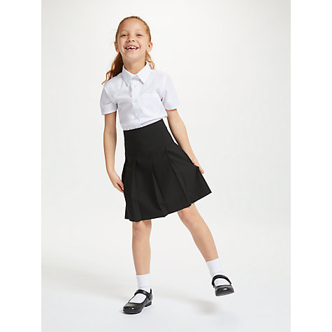 Buy John Lewis Easy Care Panel Pleated Girls' School Skirt Online at johnlewis.com
