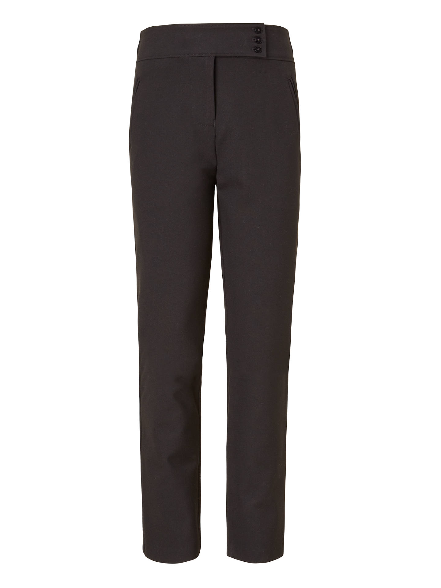 BuyJohn Lewis & Partners Girls' School Trousers, Black, 4 years Online at johnlewis.com