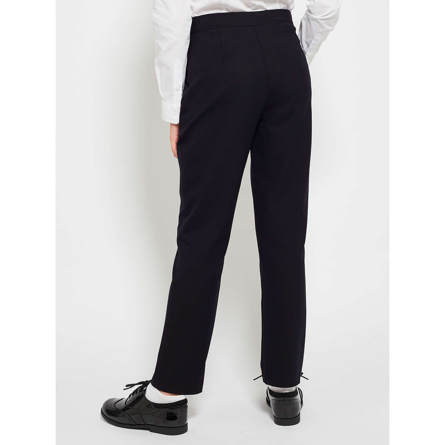 BuyJohn Lewis Girls' School Trousers, Navy, 4 years Online at johnlewis.com