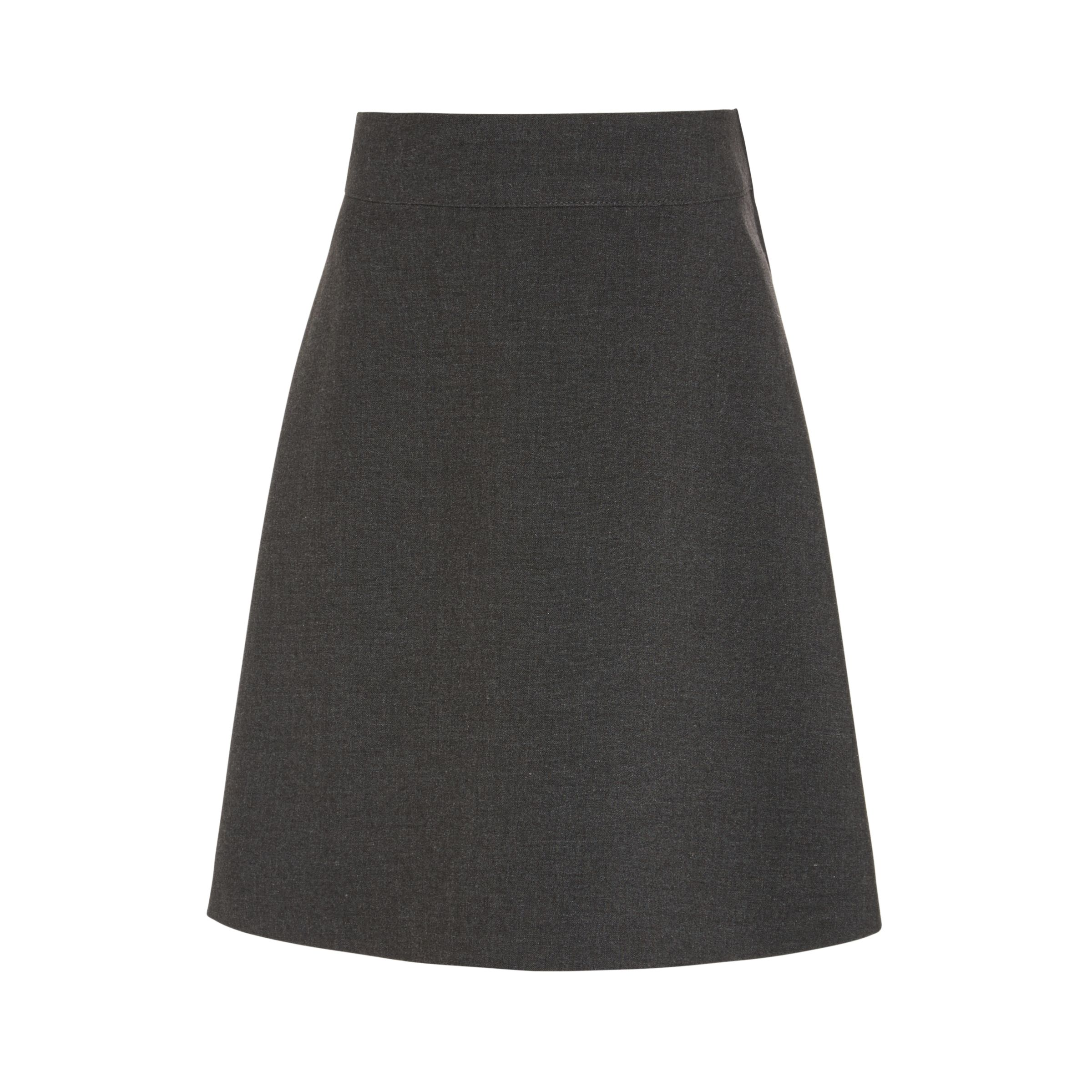 a53d0fecbc John Lewis & Partners Girls' Easy Care Adjustable Waist Skater School Skirt  at John Lewis & Partners