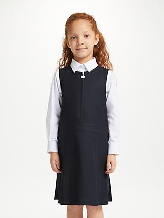 John Lewis & Partners Girls' Zip Front School Tunic