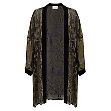 Buy East Rose Devore Kimono, Gold Online at johnlewis.com