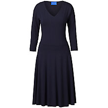 Buy Winser London V Neck Flared Jersey Dress Online at johnlewis.com