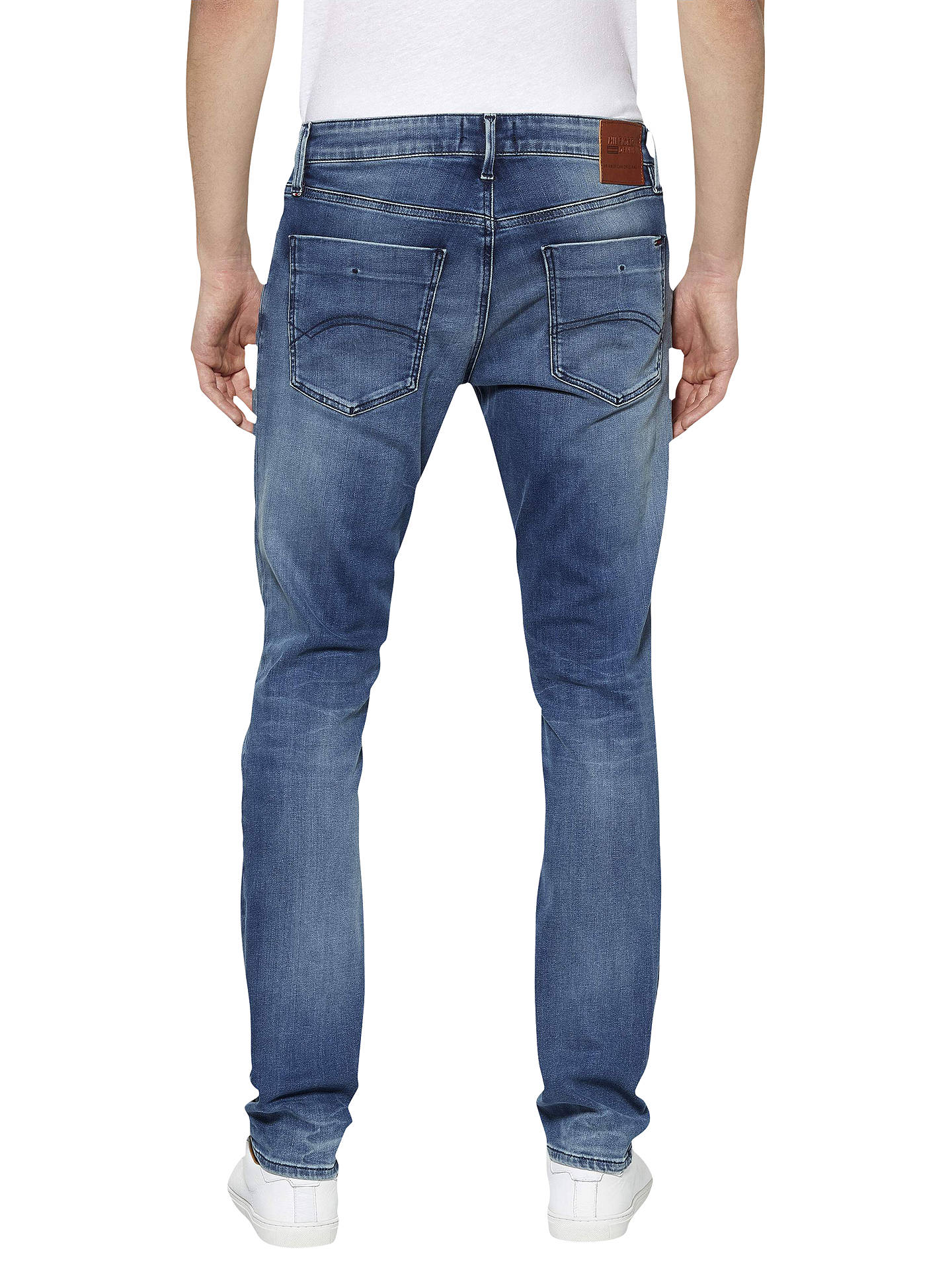 fbaeaca06 ... Buy Tommy Jeans Dynamic Stretch Scanton Slim Fit Jeans, Faded Blue, 32S  Online at