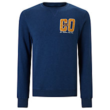 Buy JOHN LEWIS & Co. Graphic Print Sweatshirt, Indigo Online at johnlewis.com