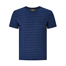 Buy JOHN LEWIS & Co. Jacquard Weave T-Shirt, Indigo Online at johnlewis.com