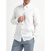 Buy John Lewis Plain Linen Shirt Online at johnlewis.com