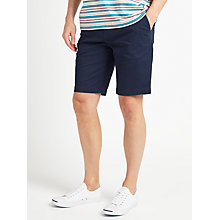 Buy John Lewis Spot Print Casual Chino Shorts, Navy Online at johnlewis.com