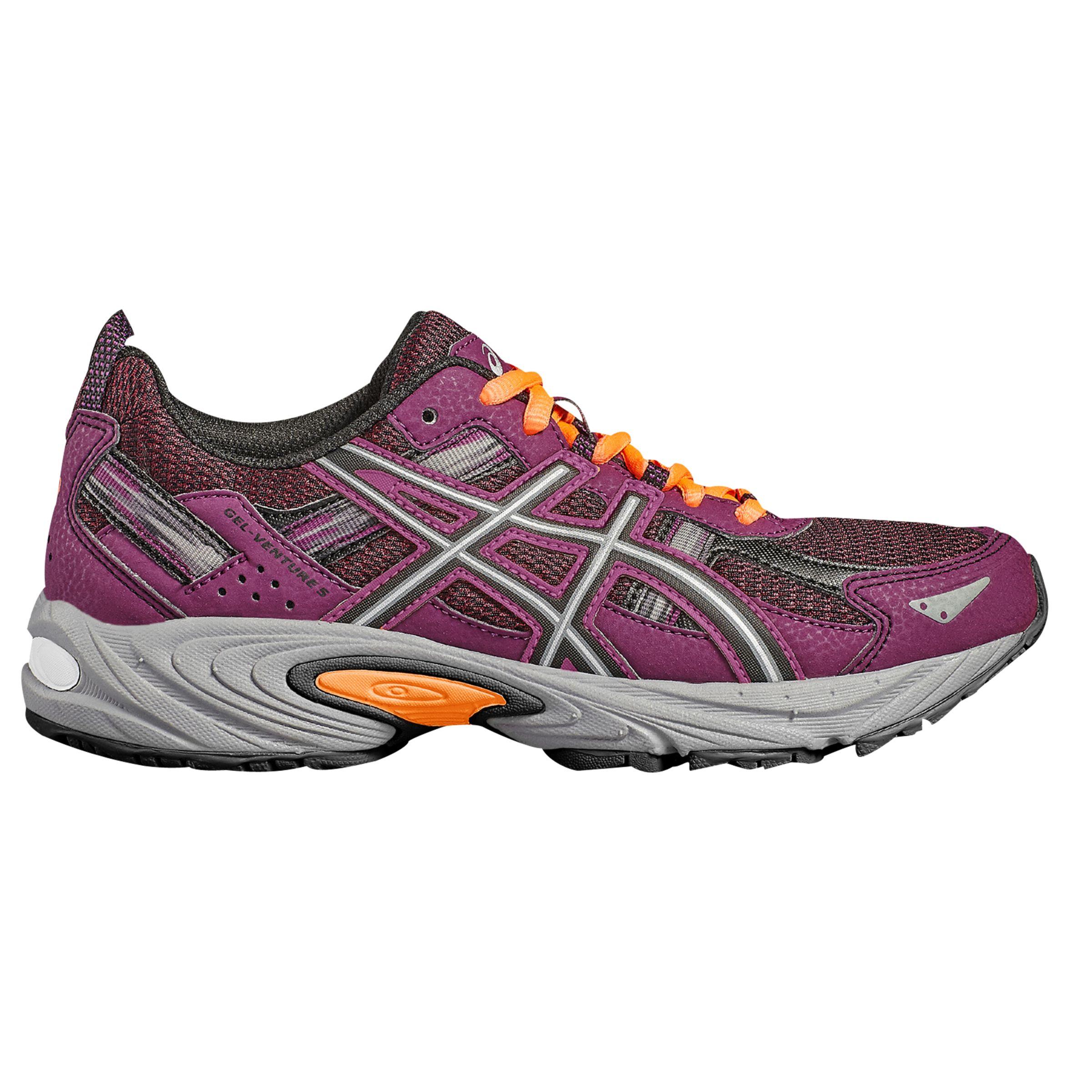 Asics GEL VENTURE 5 Women's Running Shoes, PurpleBlack at
