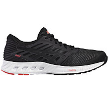 Buy Asics FuzeX Women's Running Shoes, Black/Grey Online at johnlewis.com