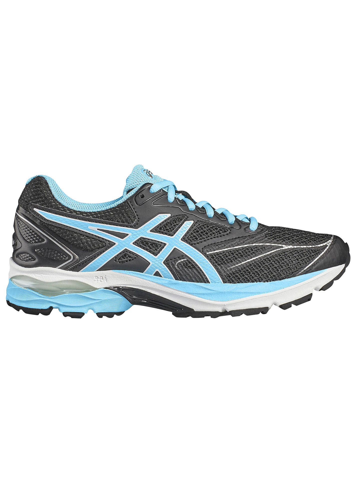 66ce31acf Buy Asics GEL-PULSE 8 Women's Running Shoes, Black/Blue, 4 Online ...