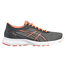 Buy Asics NitroFuze Women's Running Shoes, Black/Pink Online at johnlewis.com
