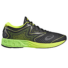 Buy Asics Gel-Noosa Tri 12 Men's Running Shoes, Black/Green Online at johnlewis.com