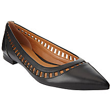 Buy John Lewis Hadria Cut Out Ballet Pumps Online at johnlewis.com