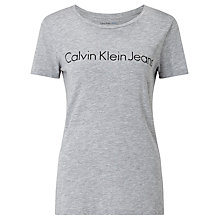Buy Calvin Klein Tamar Logo T-Shirt Online at johnlewis.com