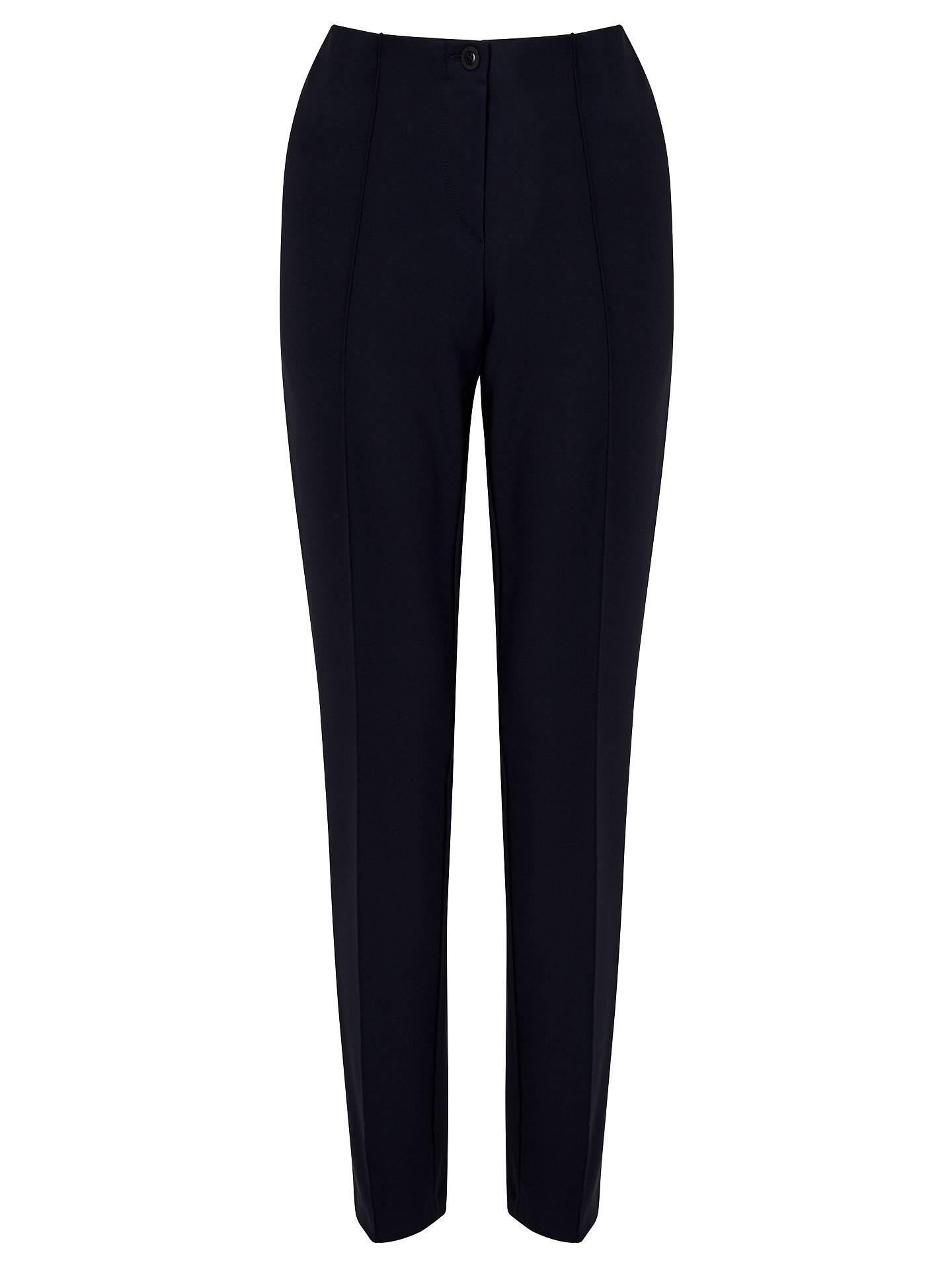 BuyGardeur Zene1 Stretch Slim Fit Trousers, Navy, 18 Online at johnlewis.com