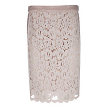 Buy Marc Cain Lace Panel Skirt, Shell Online at johnlewis.com