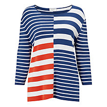 Buy Gerry Weber Colour Block Stripe Jumper, Multi Online at johnlewis.com