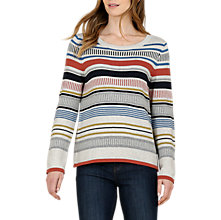Buy Seasalt Bosvigo Stripe Jumper, Metro Multi Online at johnlewis.com