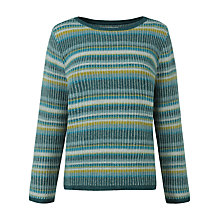 Buy Seasalt Lankelly Stripe Jumper, Basket Sardine Online at johnlewis.com