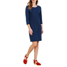 Buy Seasalt Chanter Jersey Dress, Indigo Dye Online at johnlewis.com